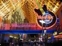 Hard Rock Cafe' at night